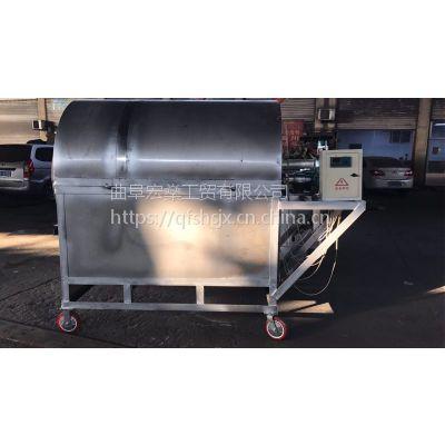 电加热温控炒货机 节能环保电加热烘干机 菜籽芝麻电炒
