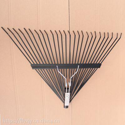 宇鑫园艺工具多齿耙子26齿草耙农具铁耙搂草耙子落叶耙