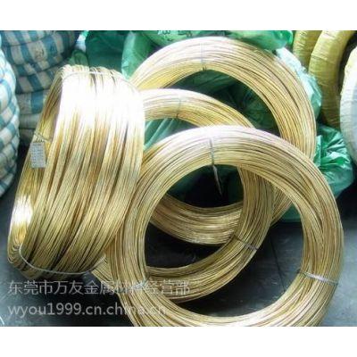 现货 H65黄铜线1/4H直径1.2mm 1.3mm规格国标铜线江西江铜