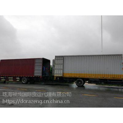 澳门地盘货物运输 中澳吊车平板车吨车排队等候调遣