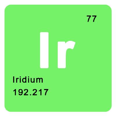 进口单晶铱/铱单晶/科研材料/Iridium single crystal