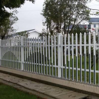 江苏无锡院墙护栏pvc围墙护栏塑钢庭院、小区 校区厂家现货供应