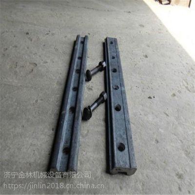 直销轨道设备国标24kg道夹板 定做绝缘道夹板
