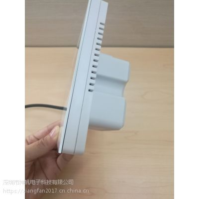 PM2.5新风控制器4.3寸TFT液晶屏WIFI端口RS485选配微信口直供贴牌