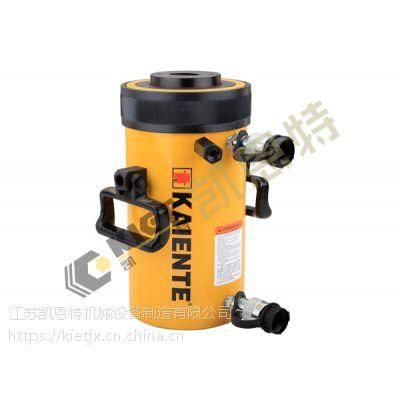 优质的双作用大吨位中空液压千斤顶 凯恩特自产自销