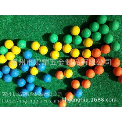 直销9mm硅橡胶五金钢珠减震性用品跳跳球密封玩具裹胶硅胶球