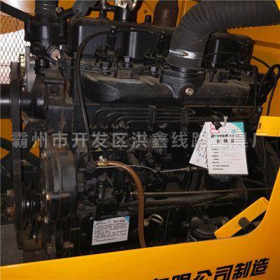 嘉兴铲车电线杆打洞机 自动化 洪鑫铲车上装的螺旋挖坑钻头价格