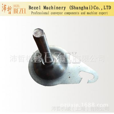 bezel专业生产各种输送脚蹄 带钩金属底脚 镀锌脚杯输送配件厂家