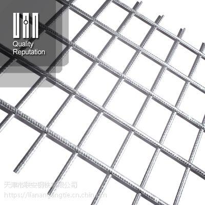 天津厂家直供4@100CPB550光圆钢筋网 路面加筋网