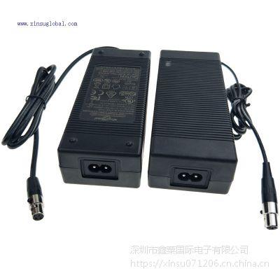 XinsuGlobal 51V2A磷酸铁锂电池充电器 SAA RCM认证51.1V2A充电器