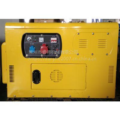 睿德R2V88双缸风冷柴油发电机组 10KW风冷柴油发电机组 14HP静音三相圆弧款