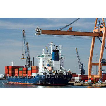 泉州到山东潍坊走海运门到门一个集装箱的价格及费用查询