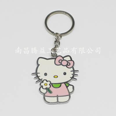 供应hello kitty 钥匙扣 奖牌 书签 领带夹 徽章 襟章 勋章 胸牌