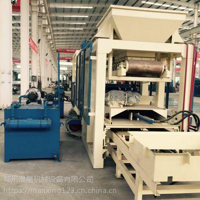 全自动液压砌块砖机 8-15免烧砌块砖机 环保液压水泥砖机厂家
