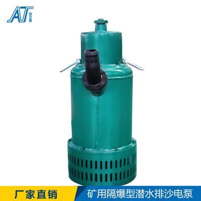 水泵厂家BQS系列矿用隔爆型 排污排沙潜水电泵杂质泵潜污泵排污泵边立式 质量保证