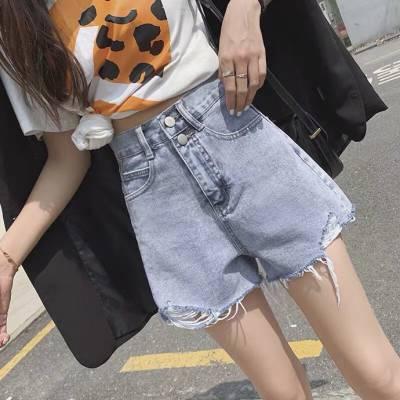 广州沙河便宜库存女式牛仔短裤批发河南时尚牛仔短裤批发