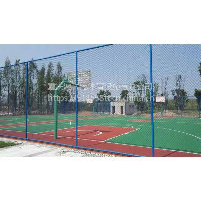"""广东""""长河""""塑胶硅PU型篮球场,CH-021型弹性地板,标准型厚度4mm,"""