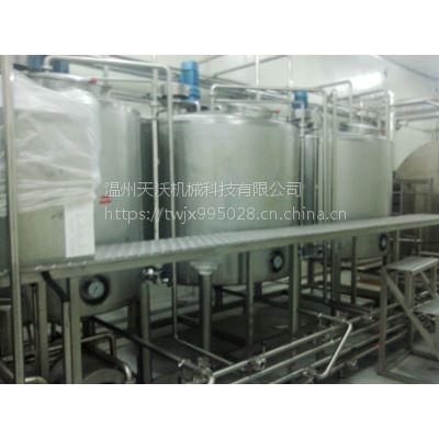 天沃大输液针剂配液系统 不锈钢自动化控制浓稀配液机 提取罐
