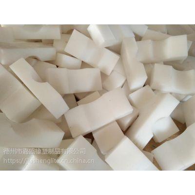 聚乙烯耐磨垫块 高分子垫板加工 抗冲击UPE压块塑料异型件