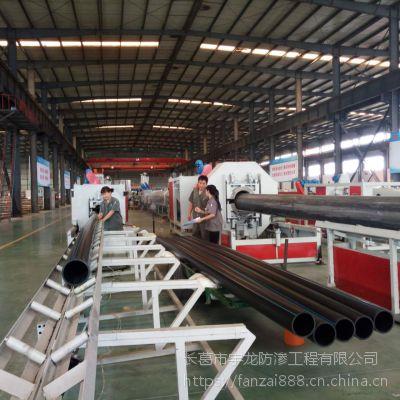 室外消防工程地埋PE管 建设工程专用PE管材厂家直销