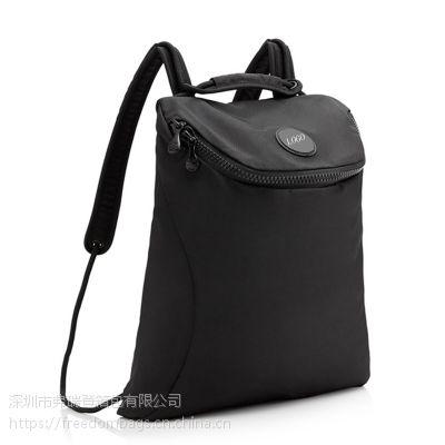 厂家定做男女潮大容量多功能通勤时尚简约纯色旅行背包可定制LOGO