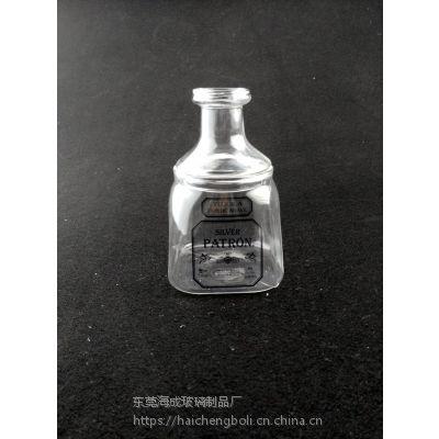 耐高温玻璃瓶,玻璃酒瓶,烤花玻璃瓶