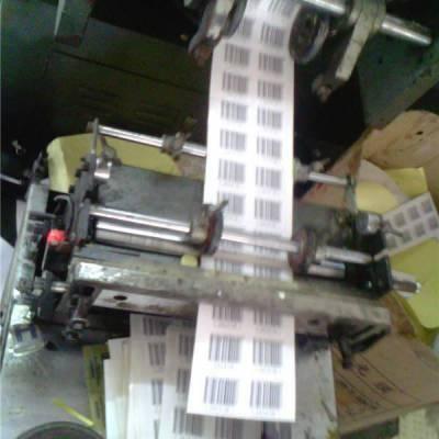 景德镇么拖车配件标签印刷厂,烫金不干胶报价