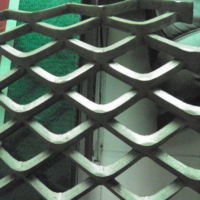 机械防护钢板网 拉伸钢板网