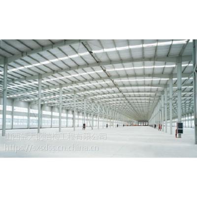 钢结构厂房车间的每平米造价多少工业厂房造价_山西盛大钢构