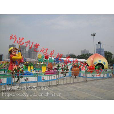 花果山漂流2018创艺游乐公园新款游乐设备趣味好玩的游乐设备