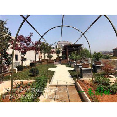 嘉兴私家花园景观,杭州一禾园林景观,私家花园景观设计