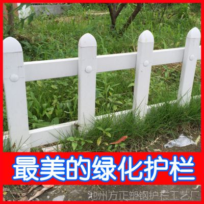 安徽PVC护栏代理商 批发草坪护栏 绿化 公园护栏系列