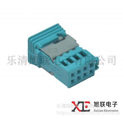 供应汽车连接器TE泰科9-965382-1国产8芯