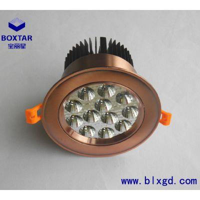供应BOXTAR宝丽星高光效、高效率的圆形12×3W超高亮LED珠宝射灯、LED珠宝灯