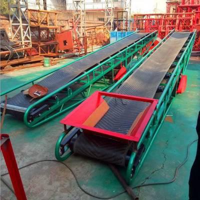 食品行业专用皮带输送机 防滑带式运输机 长距离皮带机订做