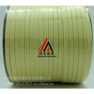 强安(GWS8-4)耐高温黄色芳纶纤维辊道绳