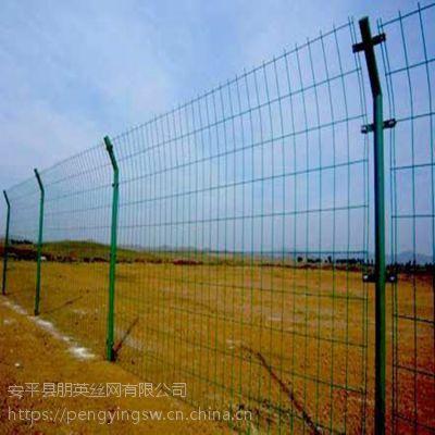 厂家直销 机场围栏防护网 喷塑铁丝双边丝隔离网