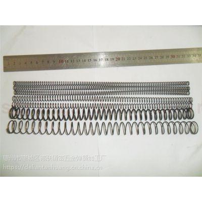 供应惠州弹簧厂提供各种压簧线径0.2至5.0mm大小压力弹簧拉伸弹簧