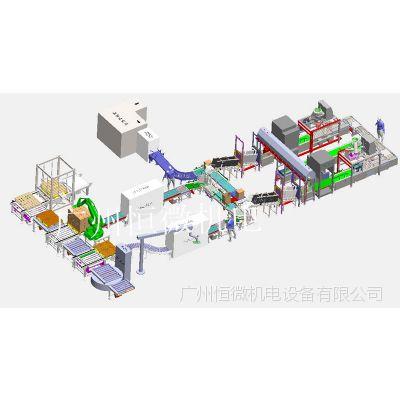 广东广州源头工厂医药级液体包装线 自动化包装线