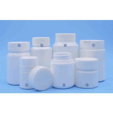 供应60/100/150ML口服固体瓶 口服固体药用高密度聚乙烯瓶 压旋盖 复合盖 防儿童开启盖