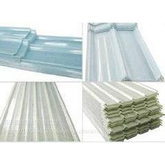 厂家直销 临沂爱硕钢结构大棚透明采光瓦采光板 FRP防腐树脂阻燃瓦(900型)