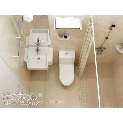 山东德誉厂家供应宾馆整体卫生间免做防水整体卫浴 酒店宾馆集成卫浴