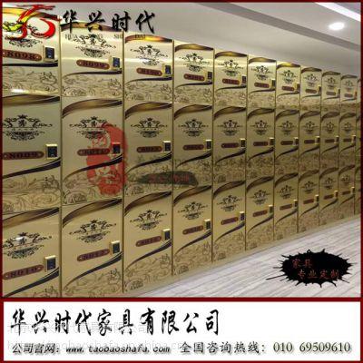 北京华兴时代浴室更衣柜 洗浴温泉更衣柜定做密度板单柜
