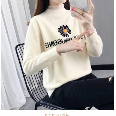 库存打底衫批发 尾货新款韩版女装毛衣 低价处理女士毛衣清仓