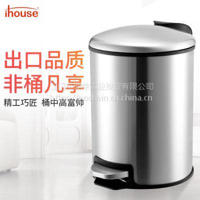 5L系列背袋垃圾桶静音缓降垃圾桶 家庭厨房客厅纸篓