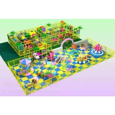 室内儿童乐园 新型电动室内淘气堡 亲子游乐园 厂家直销