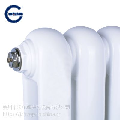 钢制柱型暖气片产品出厂前逐组进行水压试验, 钢制暖气片 钢4柱