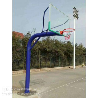 专供兰州广场体育馆篮球架 钢 河北大迪牌 地埋式