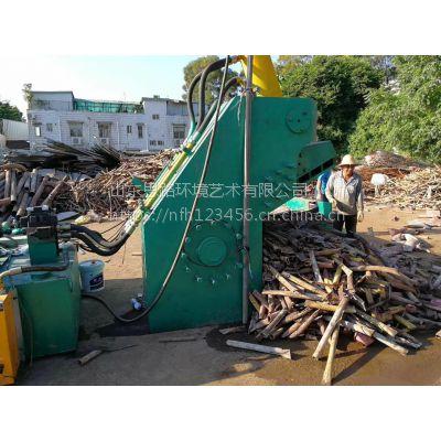 400吨液压废料剪切机 鳄鱼式角钢废钢板剪切机 山东思路维修液压机械