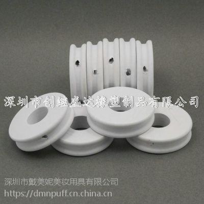 厂家生产EVA白色渔线圈 48*12mm带侧孔工艺子渔具线圈 垂钓配件